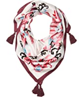Kate Spade New York - Tapestry Silk Square Scarf