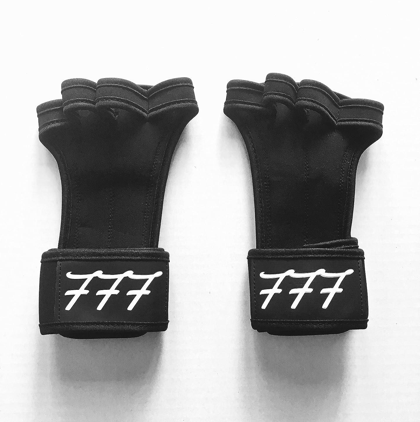 隙間予測方法777ワークアウト用手袋Weighlifting、抱く、クロスフィット、HIITトレーニング、?–?ボーナスeBook?–?シリコンパディングを防ぐために裂ける?–?anti-stink?–?手首サポート