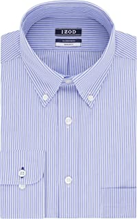 Men's Dress Shirts Regular Fit Stretch Stripe
