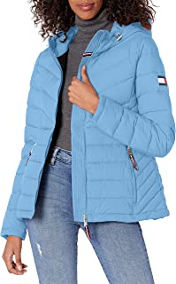 Women's Stretch Packable Hooded Jacket