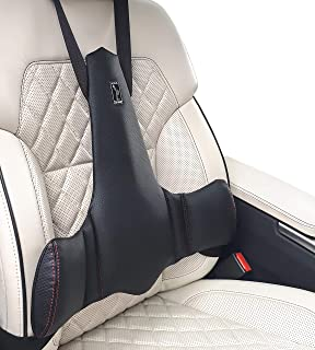 KULIK SYSTEM - New Lumbar Support for Car - Innovative Car Back Support - Car Seat Cushions for Lower Back Pain Relief - Lower Back Pillow for Car - Patented (Black)