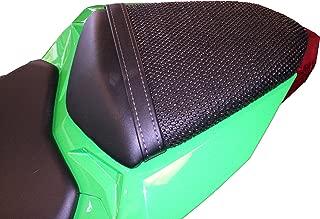 TRIBOSEAT Kawasaki Ninja 300 (2013-2017) Anti Slip Motorcycle Passenger SEAT Cover Accessory Black