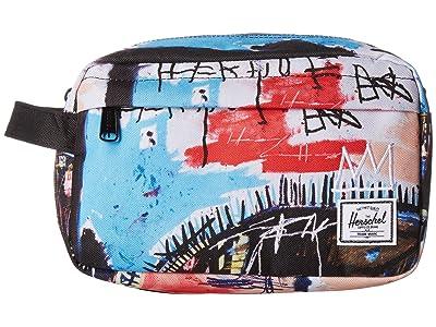 Herschel Supply Co. Chapter (Basquiat Skull) Toiletries Case