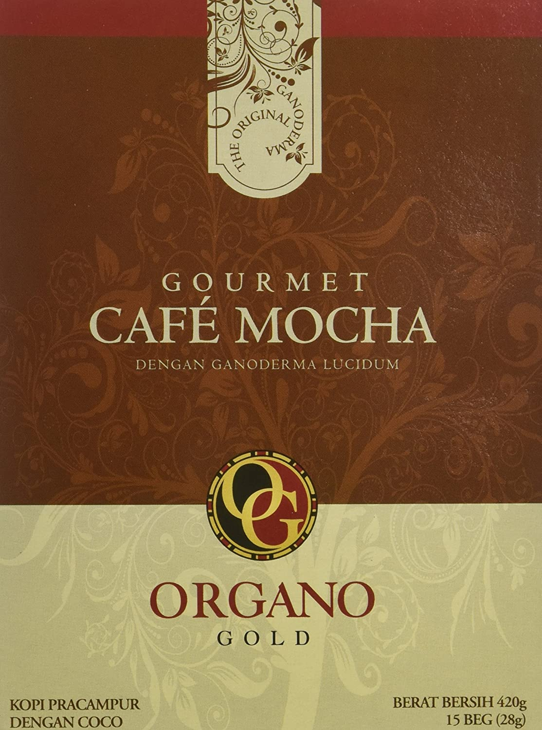 2 sale Now on sale Boxes of Organo Gold Ganoderma Mocha Gourmet 1 - Cafe