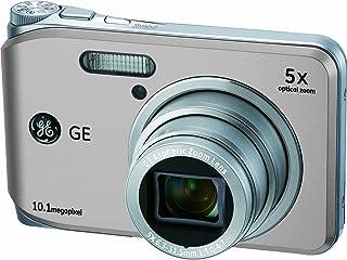 GE General Electric J1050 Digitalkamera (10 Megapixel, 5 Fach Opt. Zoom, 6,9 cm (2,7 Zoll) Display, Auto Panorama, Bildstabilisator) Silber