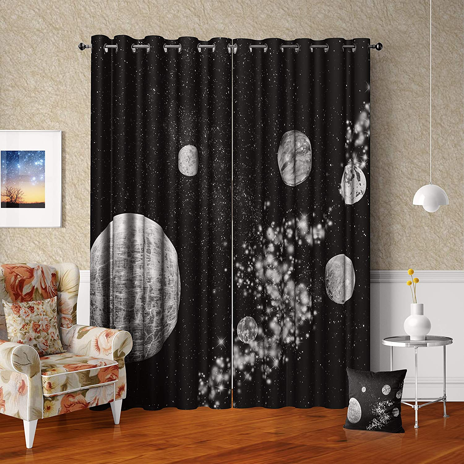 excellence AXLuolan Psychedelic Starry Sky Galaxy Outer Curtai Space 2021 new Nebula