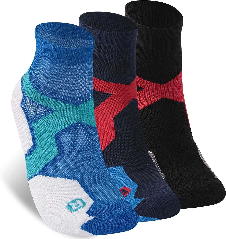Zonent Tennis Socks Running Socks Ankle Socks No Show Socks Merino Wool Socks