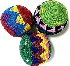 【グアテマラ産 ハッキーサック フットバッグ】お手玉 フットバッグ ボール(1個) アソート
