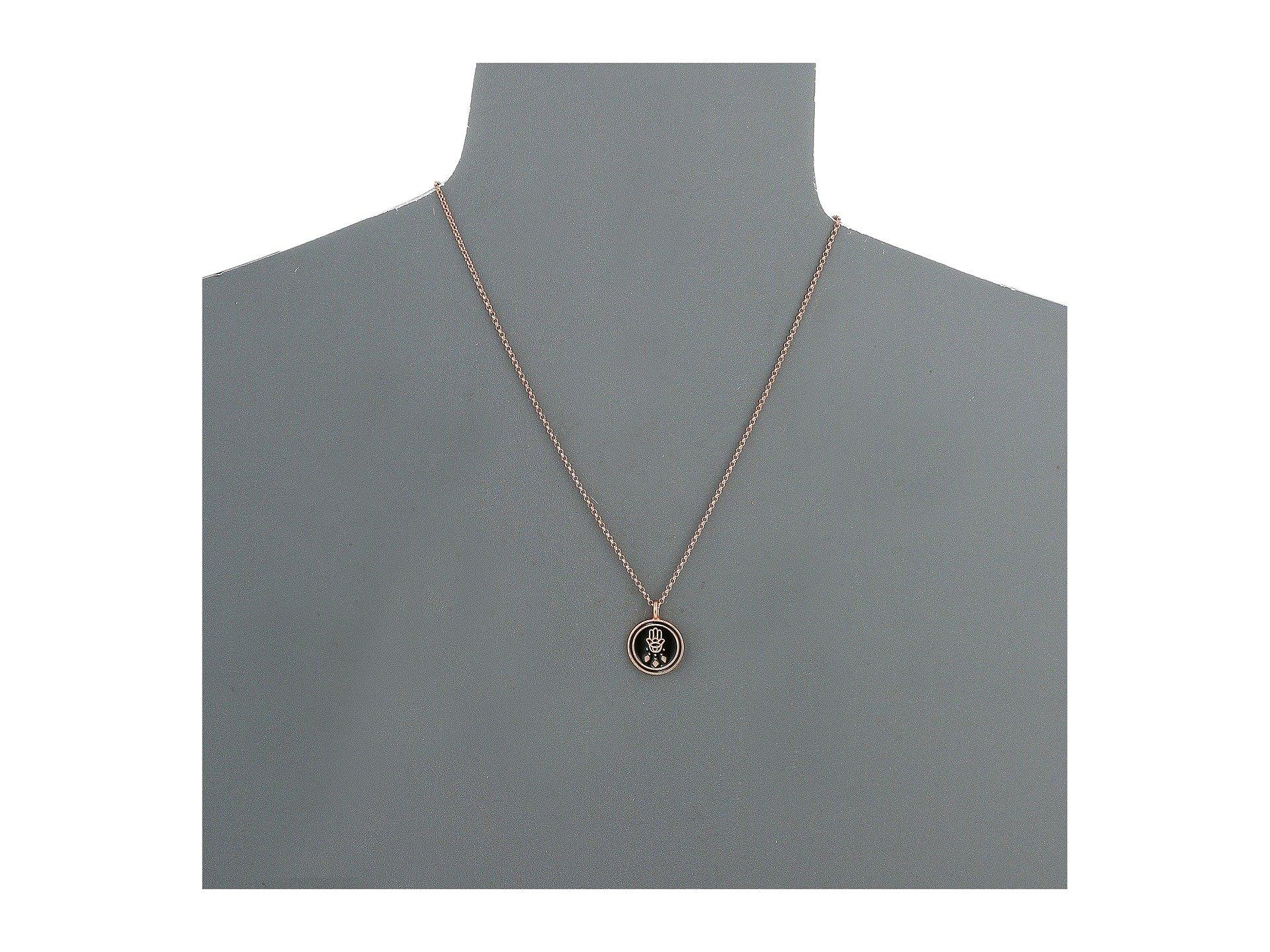 dogeared magical talisman protection charm small hamsa