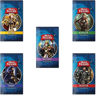 Hero Realms Character Pack Bundle (Cleric Ranger Fighter Thief Wizard)