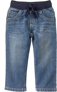 Baby Boys' Pull-on Straight Jeans