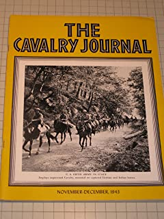 Nov.-Dec,1943 The Cavalry Journal Magazine - 5th Army in Italy - German Armor From Russian Front