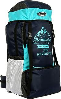 POLESTAR Adventure 55 ltrs NavyTurquoise Rucksack for Hiking Trekking/Travel Backpack