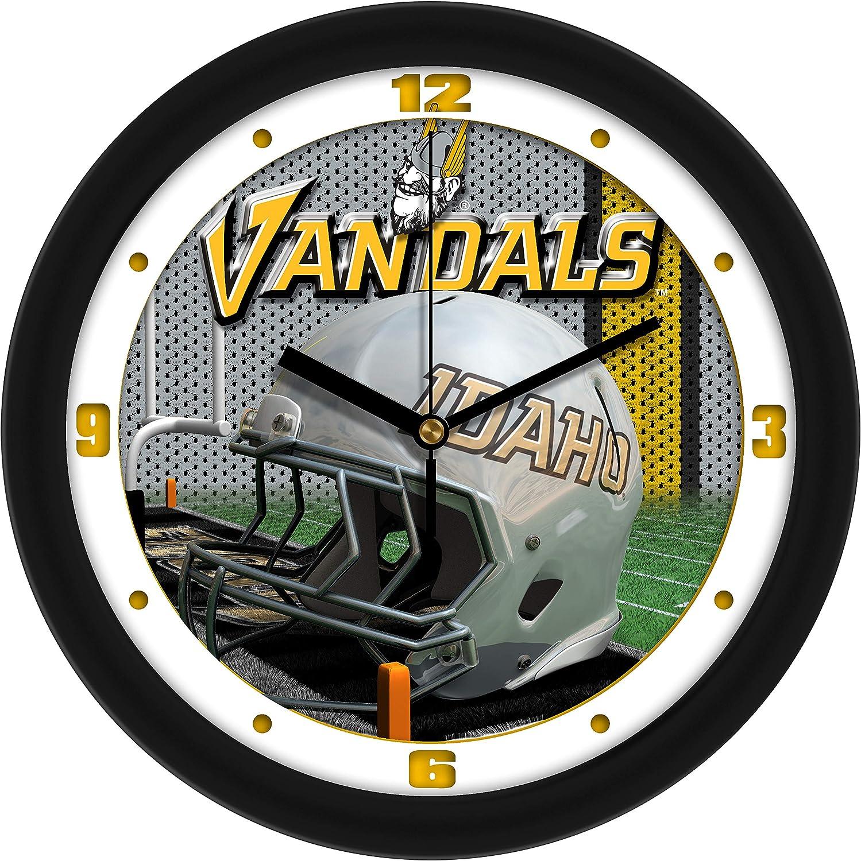 Inexpensive SunTime Idaho Vandals - Year-end gift Clock Football Helmet Wall