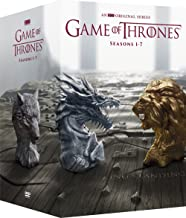 dvd game of thrones box set