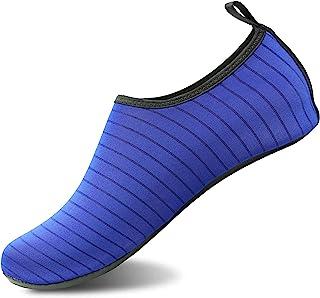 Valennia Men's Women's Water Shoes Barefoot Quick Dry Slip-on Aqua Socks for Yoga Beach Sports Swim surf