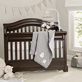 Lambs & Ivy Goodnight Sheep 4 Piece Crib Set