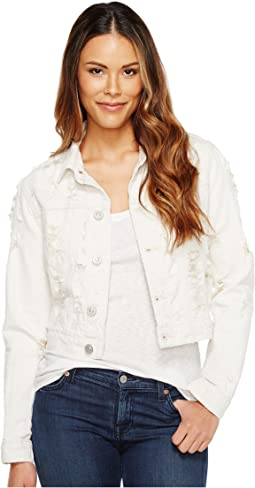 Garrison Cropped Jacket in Natural Riot