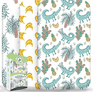 Wooly Heroes Baby Bassinet Sheets, 3 Pack ~ Premium Organic Jersey Cotton Material ~ Fits All Bassinet Mattress Shapes - C...
