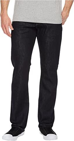 Mavi Jeans - Zach Mid-Rise Straight Leg in Midnight Williamsburg