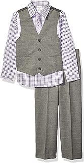 Boys' Little 4-Piece Formal Dresswear Vest Set