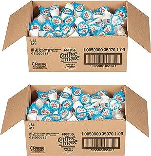 NESTLE COFFEE-MATE Coffee Creamer, French Vanilla, liquid creamer singles, 360 Count