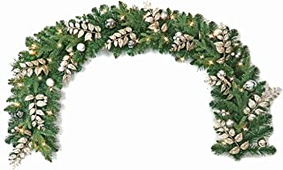 Warren&Winsley Sale Prelit Cordless LED Biltmore Regency Garland (6 Ft)