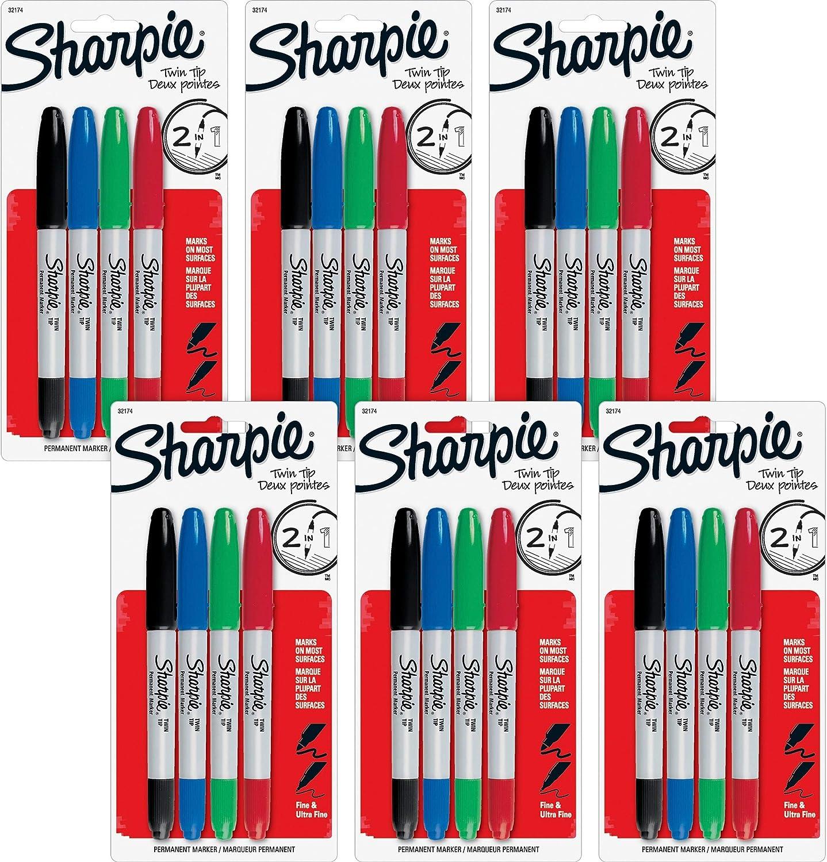 Sharpie Twin Tip Set 4, kardiert B002090144         Ästhetisches Aussehen  c51da2