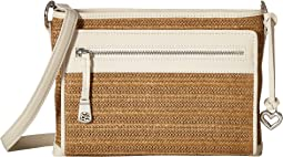 Brooklyn Straw Crossbody Organizer