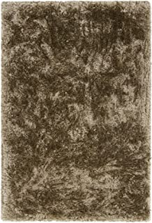 Chandra Rugs Giulia Area Rug, 93-Inch by 126-Inch, Brown