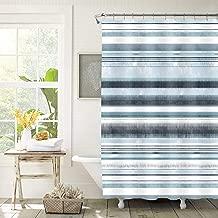 Posh Home Printed Colorful Microfiber Shower Curtain 70