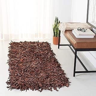 leather rug runner