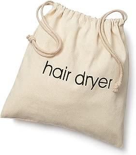 FabbPro Hair Dryer Bags Storage Organizer – Beige Color – 12