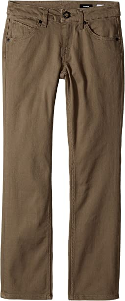 Volcom Kids - Vorta Five-Pocket Slub Pants (Big Kids)
