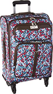 Chaps Expandable Carry on Spinner Luggage Pink