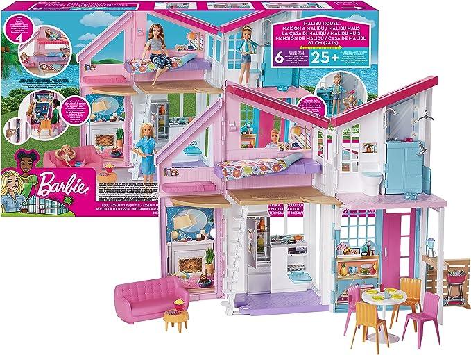 4861 opinioni per Barbie FXG57 Malibu House Playset