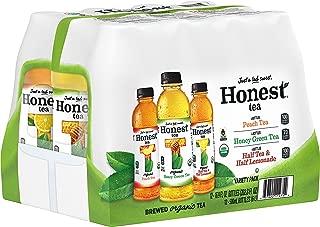 Honest Tea Organic Fair Trade Variety Pack Gluten Free, 16.9 Fl. Oz, 12 Pack