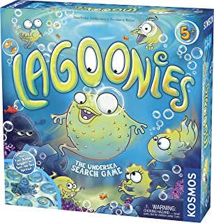 Thames & Kosmos Lagoonies (The Undersea Search Game) Game