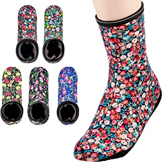 4-5 PAIRS,Womens warm socks,Stretch Velvet,Cozy slippers women,Non Slip by Grippers in Hospital/Nursing Home