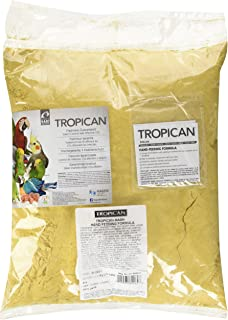 Tropican Baby Bird Food, Hand-Feeding Formula for A Complete Optimum Nutrition Diet, Easy To Prepare Mash, 11 lb Bag