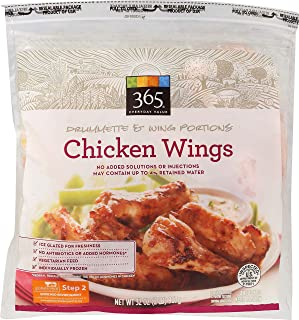 365 Everyday Value, Drumette & Wing Portions Chicken Wings, 32 oz, (Frozen)
