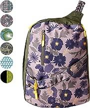 حقيبة ظهر Slope Sling للنساء للصغار مع جيب كمبيوتر محمول 15 بوصة وحزام كتف واحد حقيبة نهارية