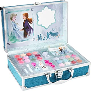 Frozen II in Time Beauty Travel X6 – Make-Up Case – Make-Up Set for Girls – Frozen Make-Up – Make-Up Bag and Accessories i...