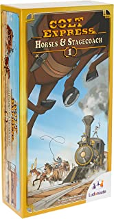 Asmodee Board Game Colt Express Horses and Stagecoach