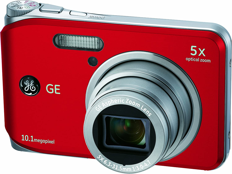 Ge General Electric J1050 Digitalkamera 2 7 Zoll Rot Kamera