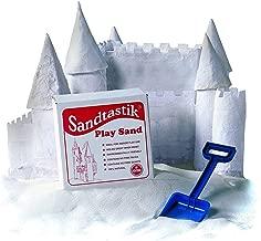Sandtastik SND025BN White Play Sand, 25 lbs. Per Box, 2 Boxes
