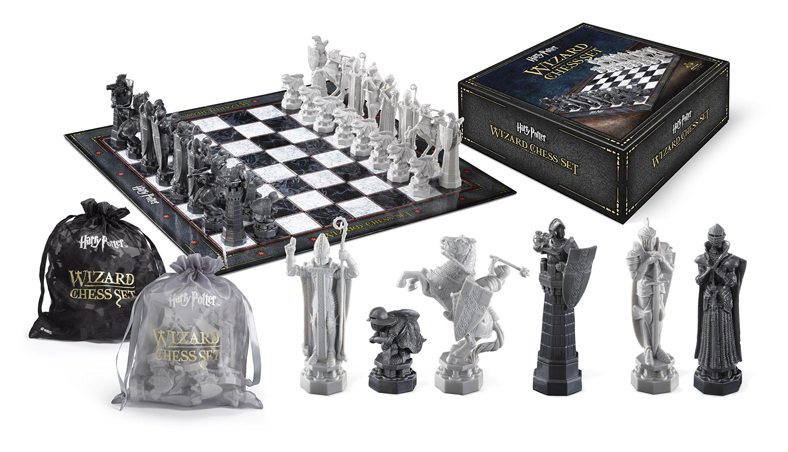 The Noble Collection Wizard Chess Set: Amazon.es: Juguetes y juegos