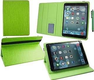 Emartbuy/® Leotec IS3G Supernova 10.1 Pulgada Tablet Universal Verde L/ápiz /Óptico Verde Prime PU Cuir /Ángulo M/últiples Folio Ex/écutif Wallet Case Cover Verde Con Tarjeta de Slots Interior 9-10 Pulgada