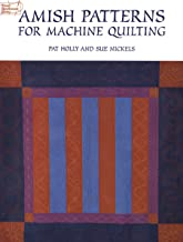Amish Patterns for Machine Quilting (Dover Quilting)