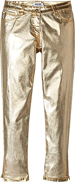 Moschino Kids - Pants w/ Logo on Back Pockets (Big Kids)